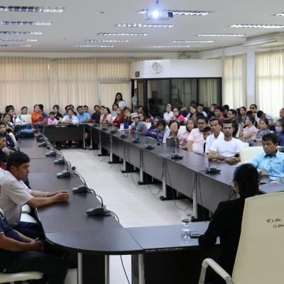 การประชุมสมาคมผู้ปกครองและครู โรงเรียนศรีสังวาลย์เชียงใหม่ 2560