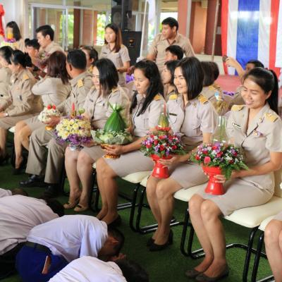 โรงเรียนศรีสังวาลย์เชียงใหม่จัดกิจกรรมวันไหว้ครู ประจำปี 2560