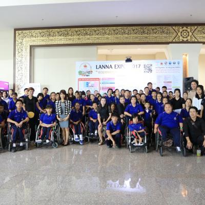 โรงเรียนศรีสังวาลเชียงใหม่ร่วมกิจกรรม งาน LANNA EXPO 2017
