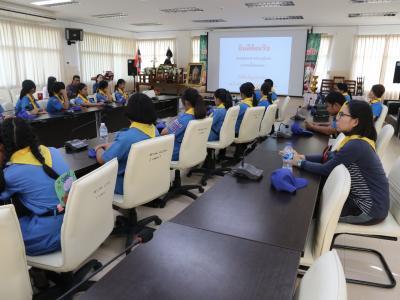 ต้อนรับชุมนุมยุวกาชาดส่วนภูมิภาค (ภาคเหนือตอนบน)