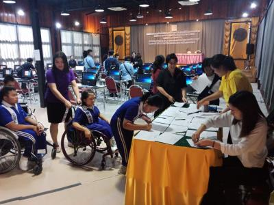 พิธีเปิดกิจกรรมค่ายคัดเลือกเยาวชนคนพิการไทยเพื่อเข้าร่วมการแข่งข