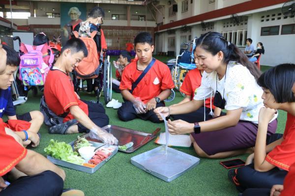 กิจกรรมค่ายทักษะชีวิตของนักเรียนพิการซ้อน ประจำปี 2563